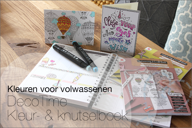 Action decotime kleur knutselboek inspiratie review