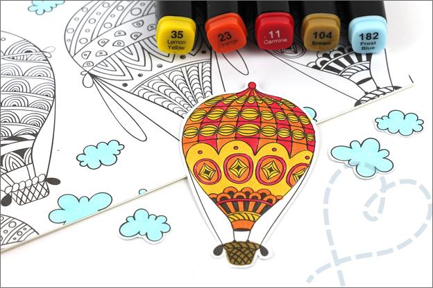 Decotime kleuren voor volwassenen kaarten maken