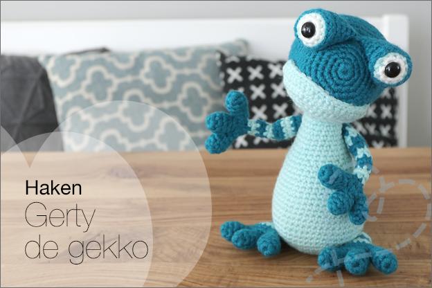Haken Gerty de gekko Zoomigurumi 9