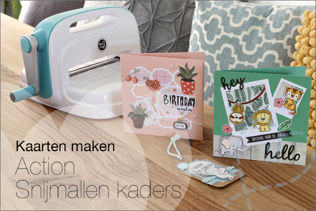 Action Love2Craft snijmallen kaders inspiratie kaarten