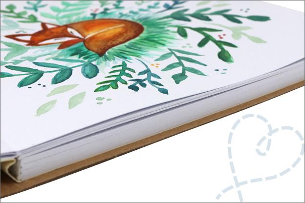 Action art journal kwaliteit aquarelpapier