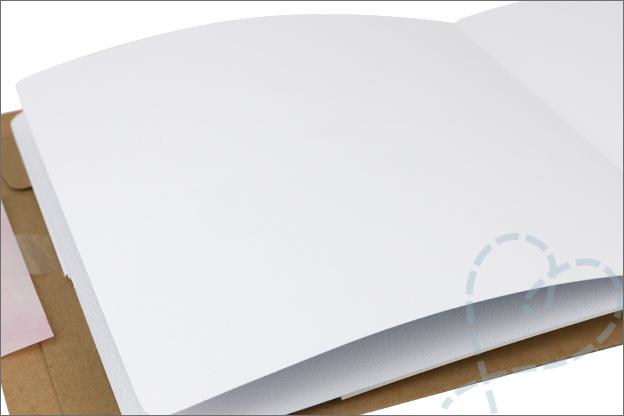 Action art journal papier kwaliteit doordrukken