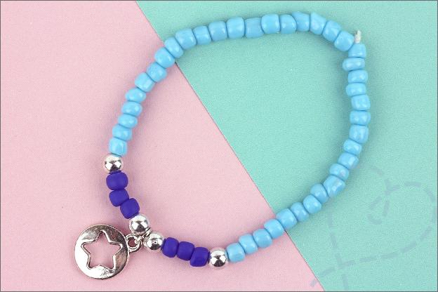 Action sieraden maken simpel armband