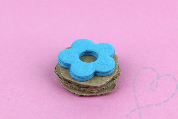 DIY Stempels Zelf maken foam