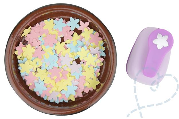 DIY confetti zelf maken met ponsjes