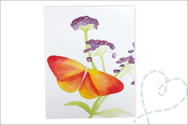 Review Action verf bloemen aquarel