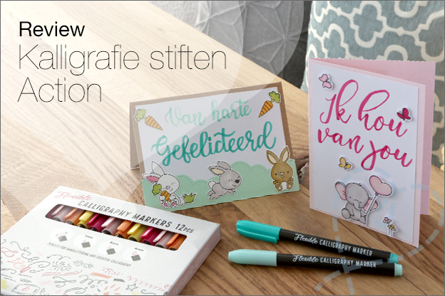 Review Flexibele kalligrafie stiften Action