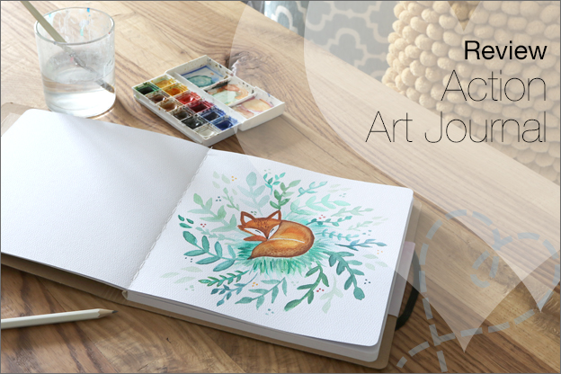 Review action art journal ervaringen inspiratie
