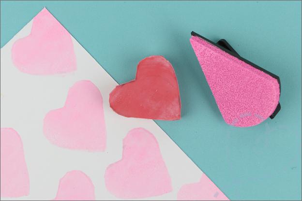Stempel hart maken DIY