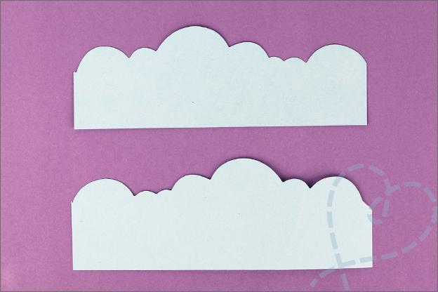 Stempelen randen wolken lucht uitleg