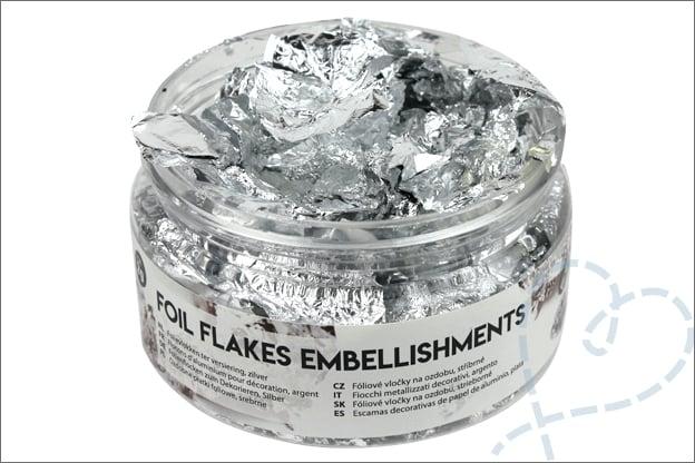 Wat zijn folievlokken Foil flakes Action