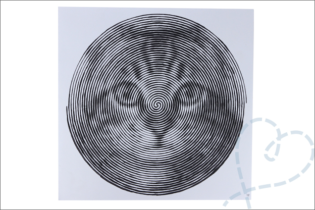 Spiral coloring book kleurplaat kat ACtion