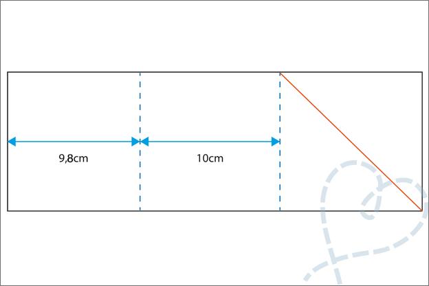 vierkante vouwkaart maken basis uitleg
