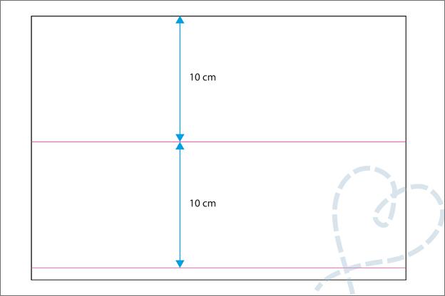 vouwkaart maken vierkant uitleg