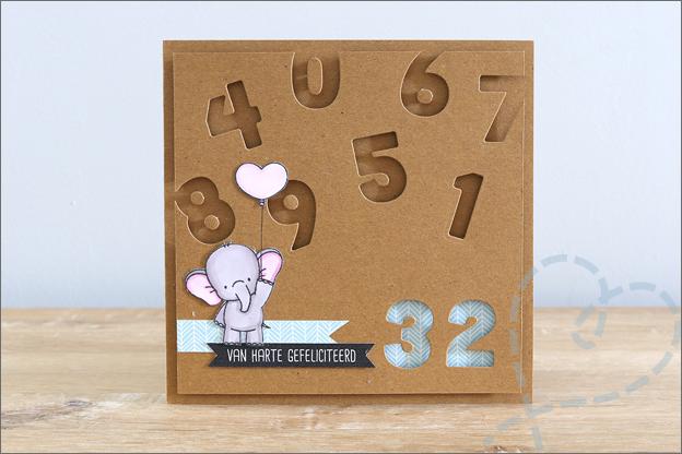 kaarten maken Action love2craft snijmallen cijfers