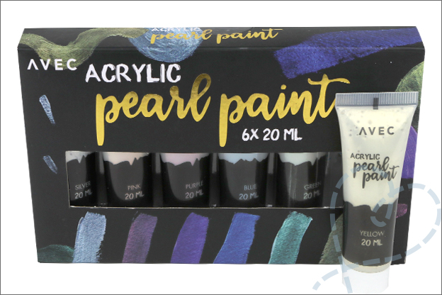 Acryl parelmoer verf action review