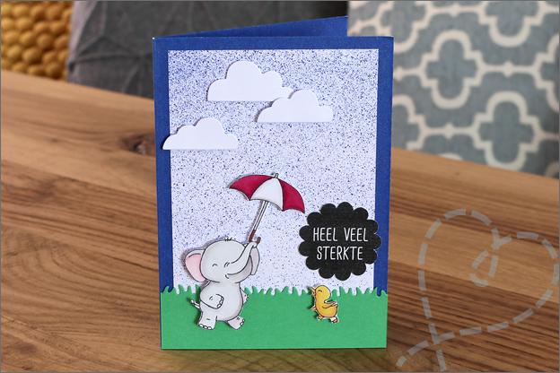 Action air spray art set kaarten maken