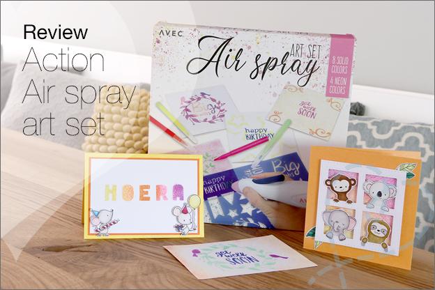 Review Action air spray art set