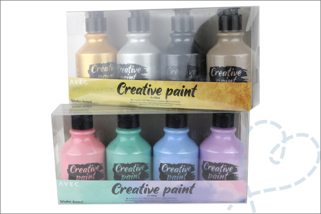 drip kaarten creative paint action