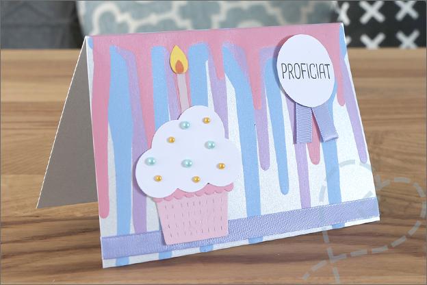 drip taart kaarten maken cupcake snijmallen action